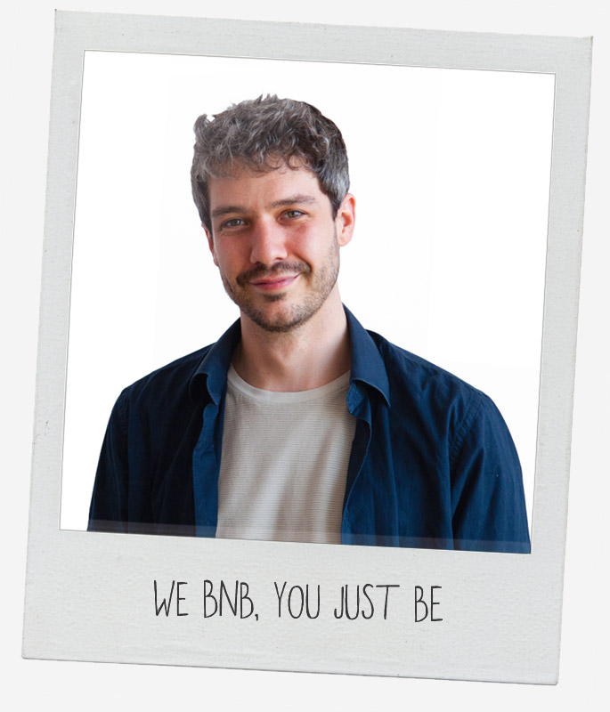 bnbe - we bnb, you just be
